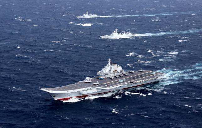 Taiwan scrambles fighter jets as China carrier enters strait