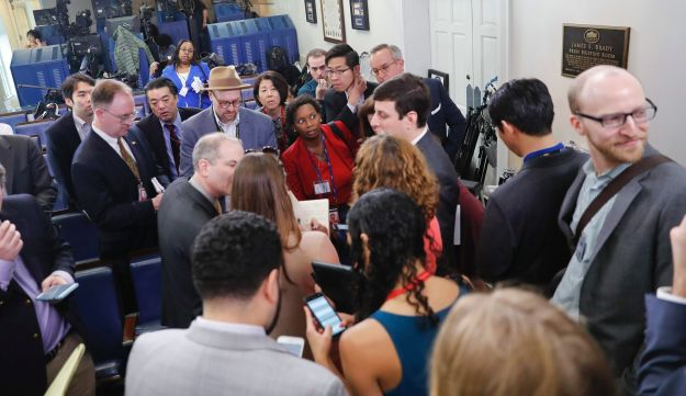 White House moves rattle Washington press corps