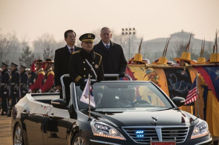 First foreign trip by Mattis signaled urgency of simmering crisis in Northeast Asia