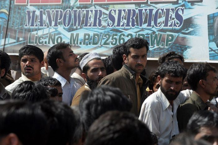 Saudi deports 40,000 Pakistani workers over terror fears