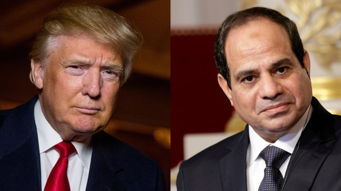 Trump to host Egypt's Sisi in early April