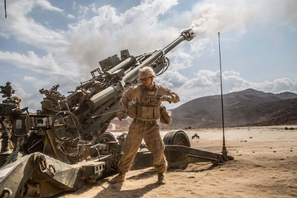 Marines set up first artillery base in Syria for Raqqa fight against ISIS