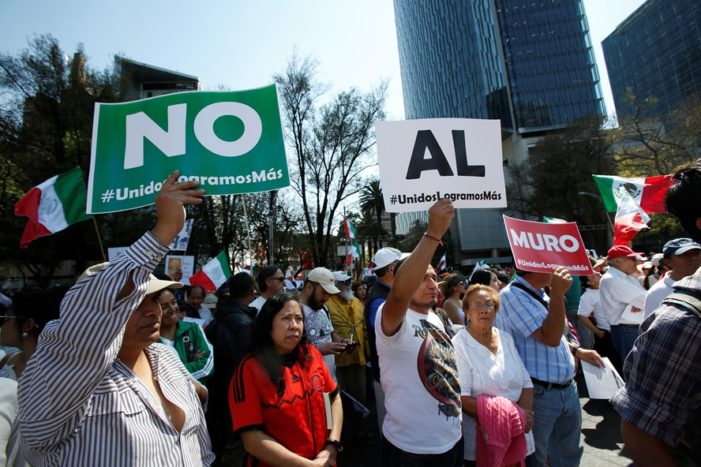 Mexico City's archdiocese brands Mexican firms collaborating with wall 'traitors'