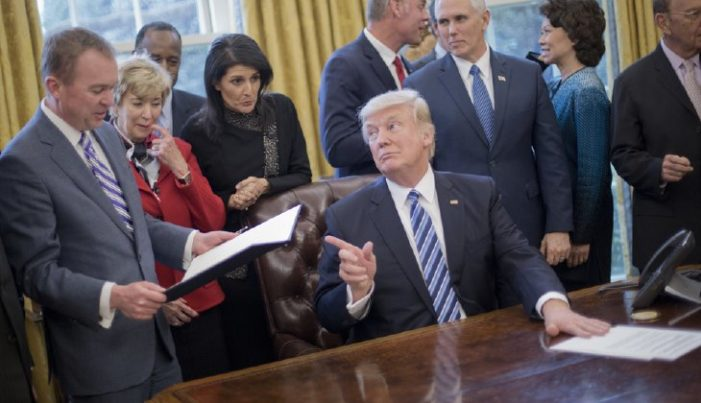 Making government small again: Trump executive order creates a suggestion box for the public
