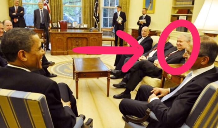 Rusian Amb. Sergey Kislyak, Barack Obama and Hillary Clinton