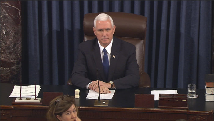 V.P. Pence's vote needed to get Planned Parenthood bill through GOP-controlled Senate