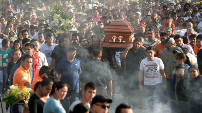 Mexico's murder rate spiked in 2016 due to 'ongoing shifts in the underworld'