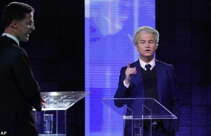 In Dutch debate, Wilders calls Rutte the 'prime minister of foreigners'