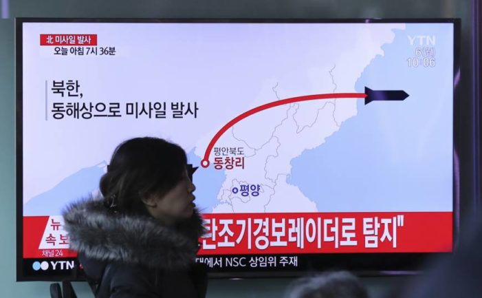 Japan on high alert as N. Korean missiles land in its waters;  Moscow 'seriously worried'