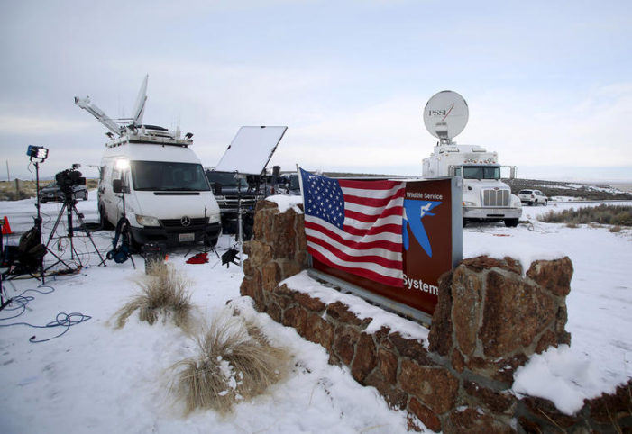 Journalists reporting critically on Feds' handling of Oregon standoff charged with crimes