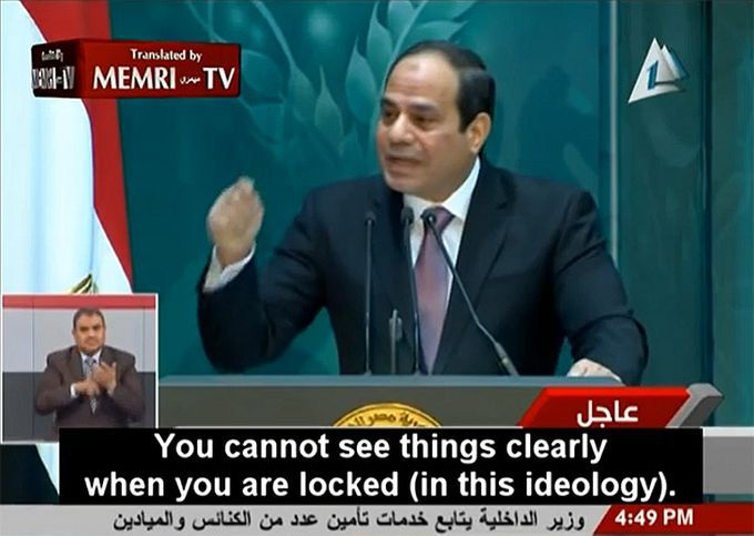 Egypt's Sisi uses social media, puts heat on imams in campaign to reform Islam