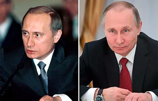 Fake cheeks? He's so vain, cosmetic surgeon says of ever-young Putin