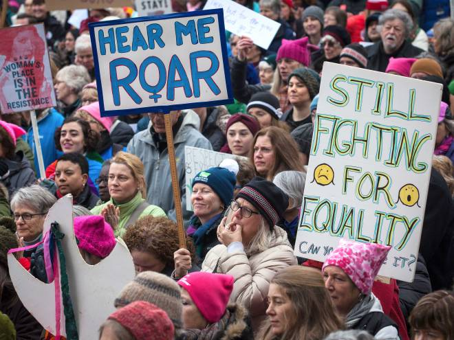 Feminists march against Trump but go silent on female genital mutilation in the U.S.