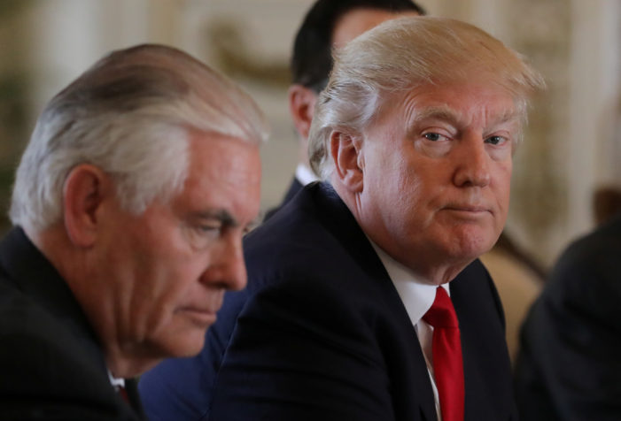 Team Trump weighs North Korea options as U.S., China hail summit's trade 'progress'