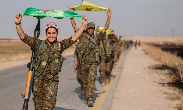 Surging Kurds see advance in Syria a win for all sides; Turkey is the exception