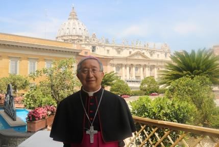 New liberal government in Seoul seeks Pope's backing for peace talks