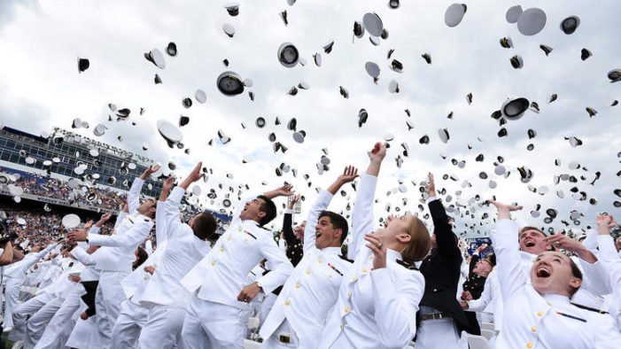 Letter: 'Zero coverage' of graduations at West Point and Annapolis by the Washington Post