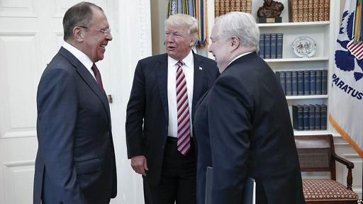 No holds barred: Washington's media-bureaucracy barrage Trump on Russia meeting