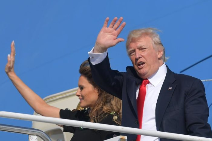 Trump triumphant on first foreign tour to the disappointment of his many enemies back home