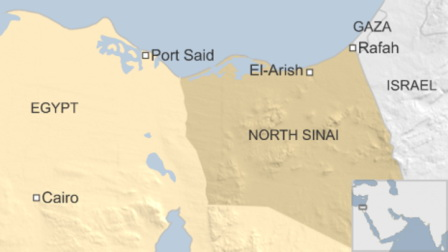 Egypt airstrikes kill 12 ISIS-affiliated jihadists in N. Sinai