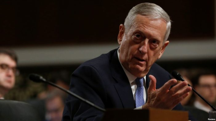 Mattis delivers warning on North Korea crisis; Drone spied on THAAD installation