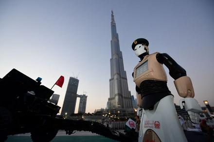 First robot cop joins the force in Dubai; Here come the surgeons, authors of best-sellers