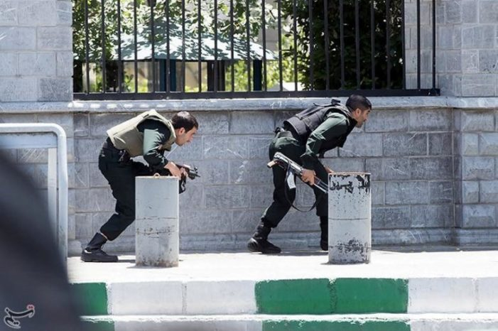 ISIS terror in Teheran: Gunmen dressed as women conduct suicide attack on parliament