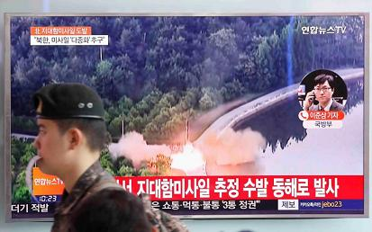 China counsels 'countries concerned' to remain calm as N. Korean missile crisis intensifies