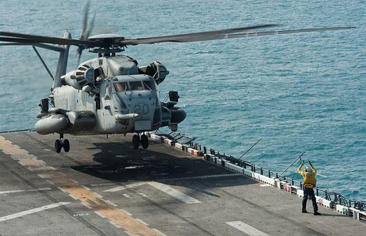 Iran boat beams laser at U.S. helicopter over Strait of Hormuz