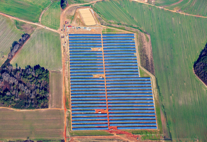 Aug. eclipse could drain North Carolina solar farm of energy