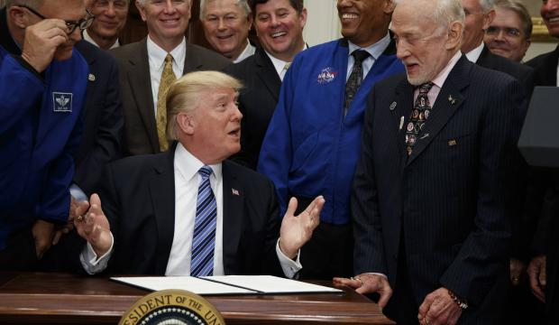 'To infinity and beyond': Trump revives National Space Council