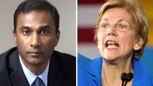 Real Indian has fun running to unseat fake Indian Elizabeth Warren in Massachusetts