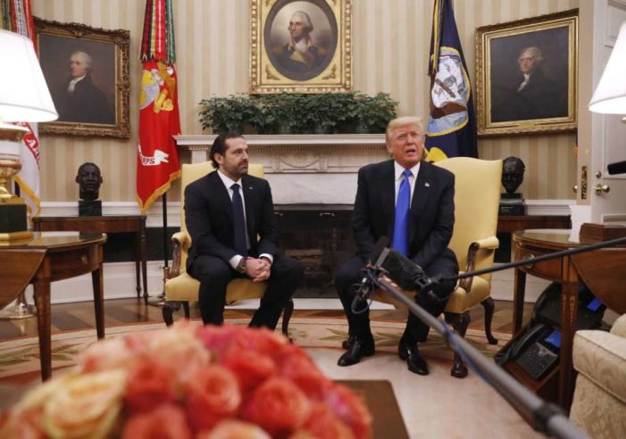 Trump slams Iran, Hizbullah for human 'catastrophe' in Syria