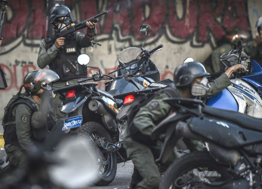 Maduro defiant as 10 killed in Venezuela protests: 'What the hell do we care what Trump says?'