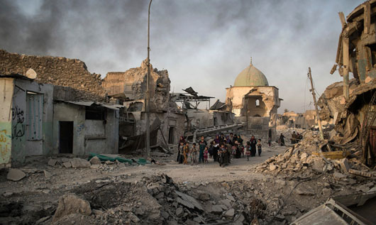 Iraq reclaims Mosul after brutal nine-month battle to oust ISIS