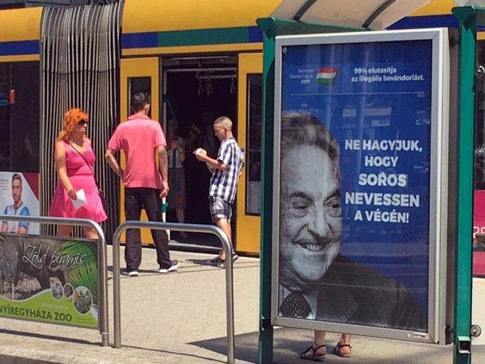 Israel backs Hungary in its showdown with George Soros