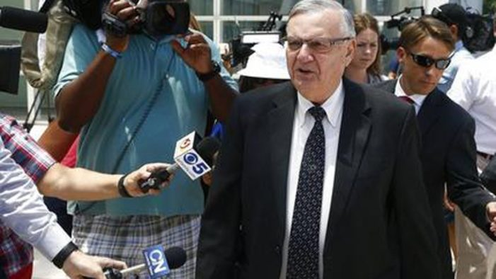 Trump 'seriously considering' pardon for Sheriff Joe, a 'great American patriot'