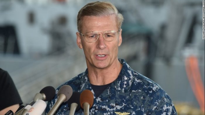 U.S. Navy fires commander of Seventh Fleet after second deadly collision at sea