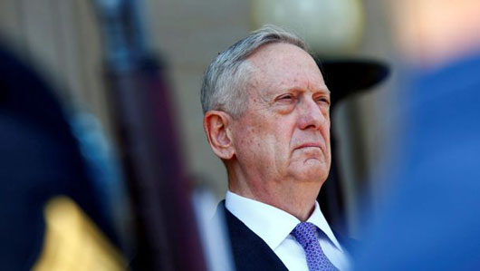 'Mad Dog' Mattis to Kim Jong-Un: We win, you lose