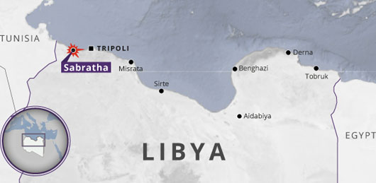 ISIS seen 'regrouping' in Libya in town near Tunisian border