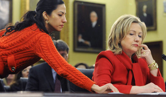 Abedin emails reveal Clinton Foundation donors received special treatment from Clinton State Dept.