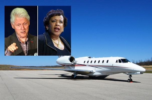 Report: Justice Dept. blacks out talking points on Loretta Lynch-Bill Clinton tarmac meeting