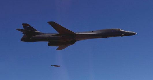 U.S. bombers conduct precision strikes near North Korean border