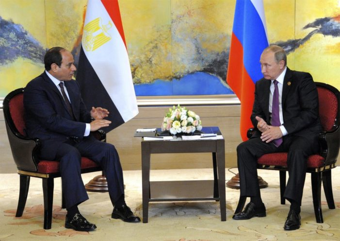Russia adds Egypt to list of Mideast nuclear power deals