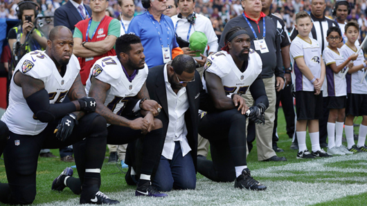 'Pathetic': NFL teams stood for 'God save the Queen' in London but not for the 'Star Spangled Banner'