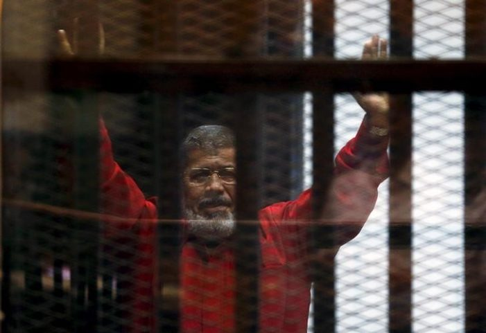 Egypt court sentences Morsi to 25 years in Qatar spy case