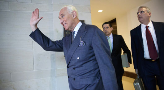 Stone goes public with opening statement to closed session of House Intelligence Committee