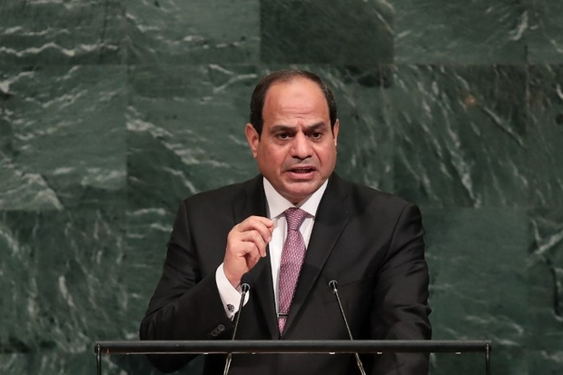 Egypt's Sisi salutes 'more than 40 years' of peace with Israel, calls on Palestinians to 'overcome differences'