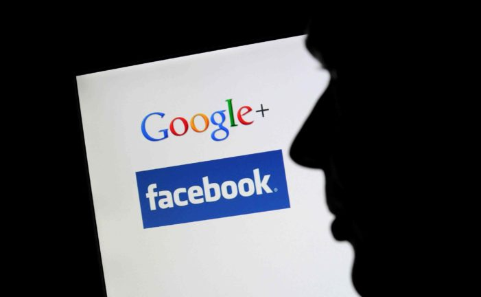 Social media giants dominate advertising market and by default the media narrative