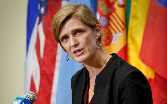 Report reveals Samantha Power as a near-daily 'unmasker' in final weeks of Obama era